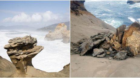 Jak można być tak głupim? Turyści zniszczyli piękną oregońską skałę
