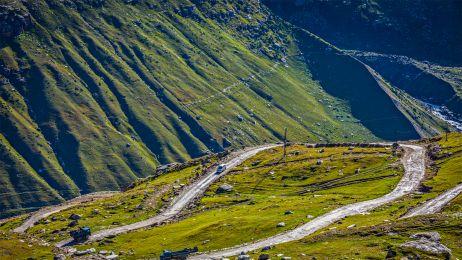 Przełęcz Rohtang dostarczy wspaniałych widoków w drodze do Ladakh