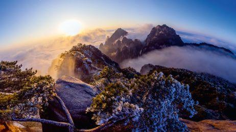 Pasmo górskie Huang Shan