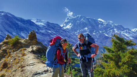 W drodze na Thorung La (5416 m)