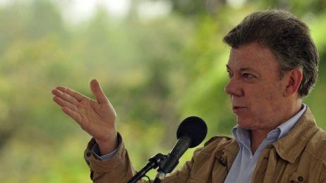 Pokojowa Nagroda Nobla dla prezydenta Kolumbii