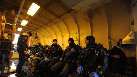 Zobacz zatopiony ORP Grom. Wyprawa polskich nurków bada wrak niszczyciela z 1937 roku