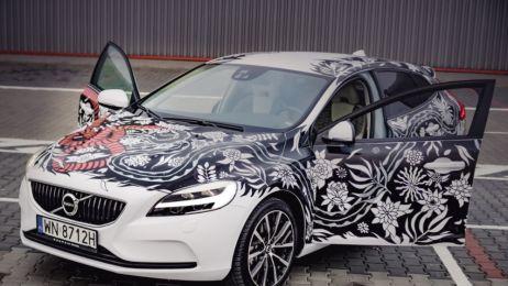 Volvo w pięknym malowaniu