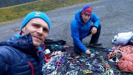 Marcin Yeti Tomaszewski ruszył na Eiger