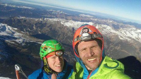 Marcin Yeti Tomaszewski i Tom Ballard wyznaczyli nową drogę na północnej ścianie Eigeru