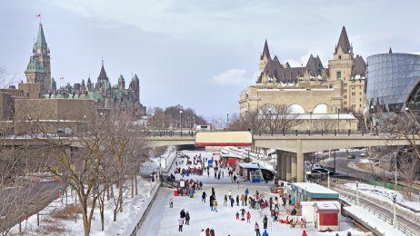 Kanał Rideau w Ottawie