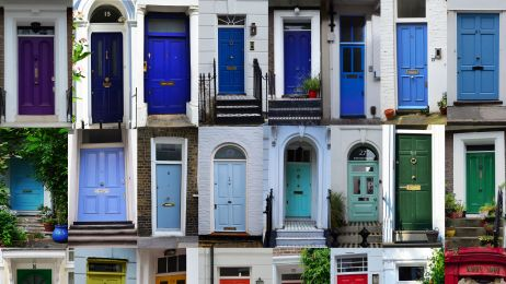 Londyńskie drzwi