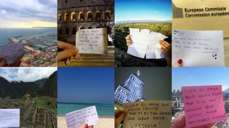 """""""Moja miłość jest tak wielka, że sięga…"""" od Żyrardowa po Mauritius. Piękna akcja czytelników Travelera!"""