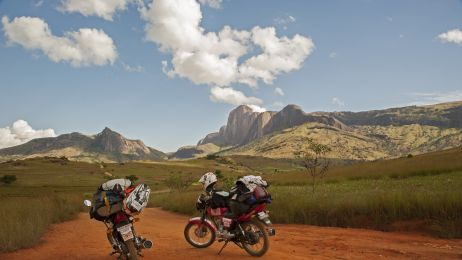 Motocyklem przez Madagaskar