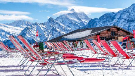 """Szwajcarski Jungfrau: narty z """"dziewicą"""""""