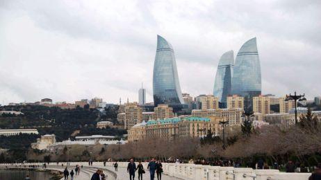 Bulwary na Morzem Kaspijskim, Baku