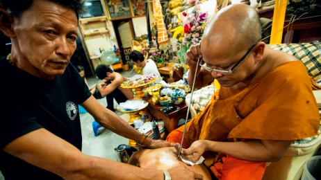 Tajski tatuaż to coś więcej niz obrazek na ciele.