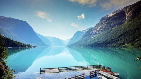 Jezioro Loenvatnet