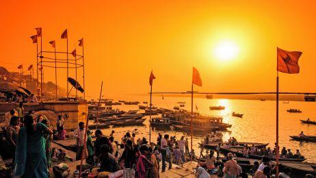 Święte rzeki Indii