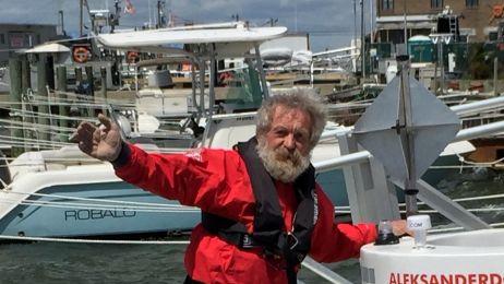 Aleksander Doba zatacza pętle na Atlantyku