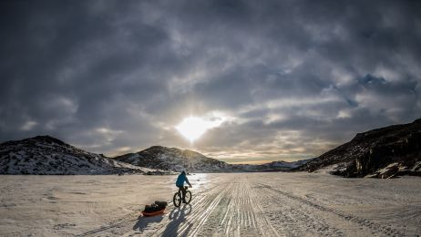 Rowerem przez Grenlandię