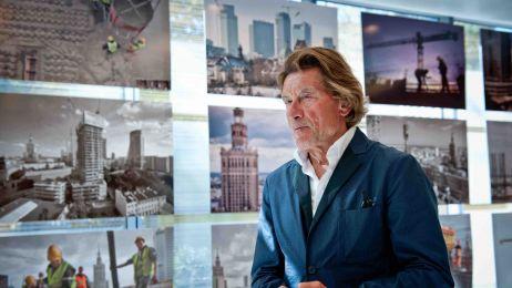 Helmut Jahn, światowej sławy architekt , odwiedził Warszawę