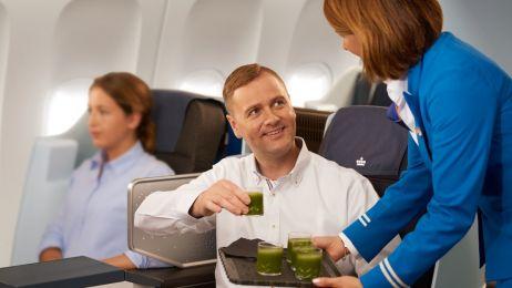 Klasa biznes w liniach KLM