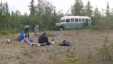 Słynny bus, w którym Christopher J. McCandless spędził ostatnie dni