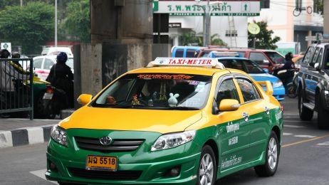 Taxi w Bongkoku