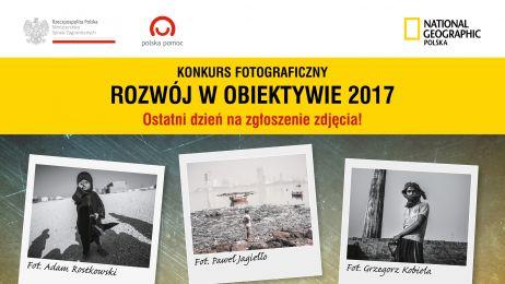 """Jeszcze tylko dziś możesz wziąć udział w konkursie """"Rozwój w obiektywie 2017""""!"""