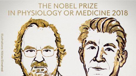 Nagroda Nobla 2018: fizjologia lub medycyna