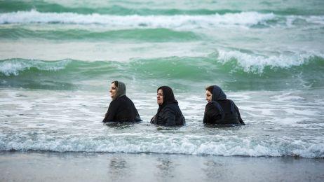 Plaża w Babolsarze nad Morzem Kaspijskim