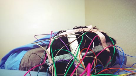 Badanie EEG podczas snu