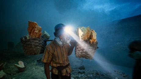 Górnicy z Ijen