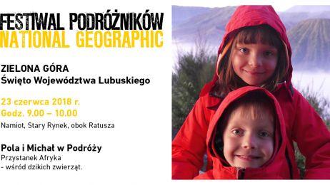 Pola i Michał, Festiwal Podróżników w Zielonej Górze