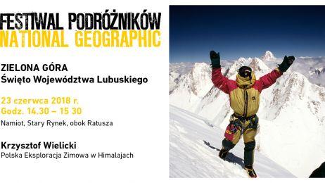 Krzysztof Wielicki, Festiwal Podróżników w Zielonej Górze