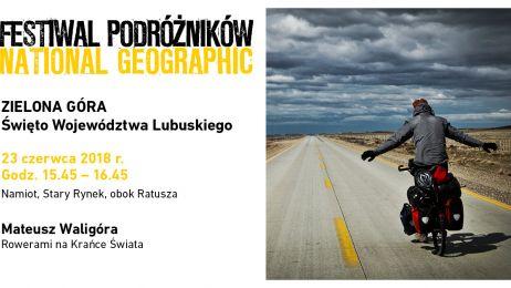Mateusz Waligóra, Festiwal Podróżników w Zielonej Górze