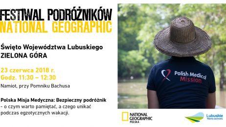 Polska Misja Medyczna na Festiwalu Podróżników w Zielonej Górze