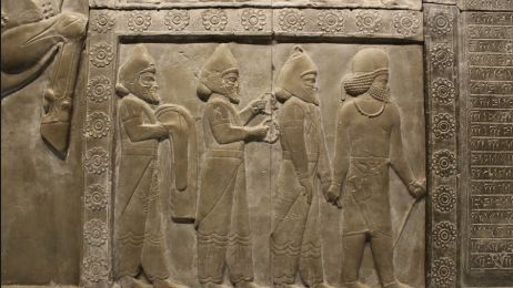 Płaskorzeźba asyryjska