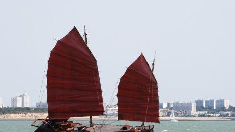 Chińska łódź - dżonka
