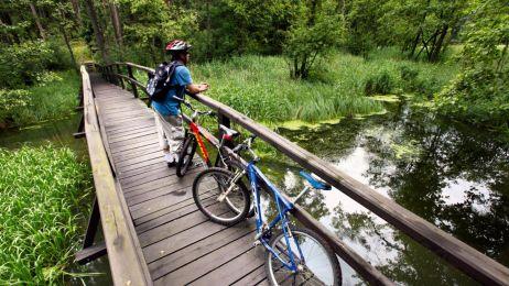 5 najpiękniejszych tras rowerowych w Polsce