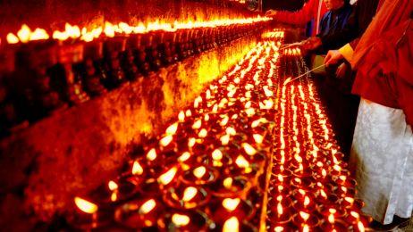 Tybetańskie święto lamp