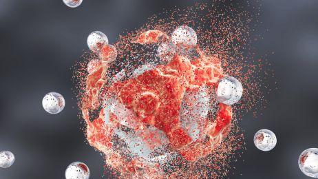 Atak na nowotwór za pomocą nanocząstek