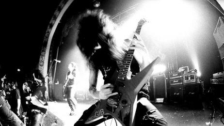 Morbid Angel podczas koncertu