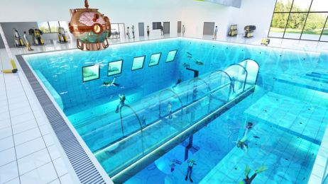 Ma 45 metrów głębokości i jest idealnym miejscem do ćwiczeń zarówno dla profesjonalnych nurków jak i amatorów.