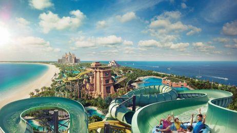 Tu nie będziesz się nudzić! Poznaj najbardziej spektakularne aquaparki i parki rozrywki w Dubaju