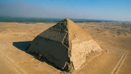 Piramida Łamana, Dahszur