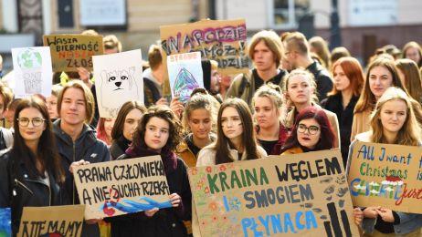 Strajk w Lublinie. Fot. Krzysztof Radzki/East News