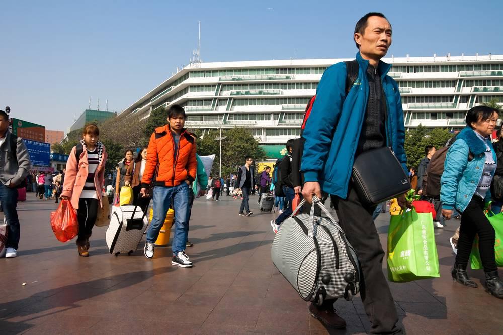 1. Zdjęcie  - Chińczycy jadą na święta do domu. Miliardy podróży. To największa roczna migracja ludzi na całym świecie!