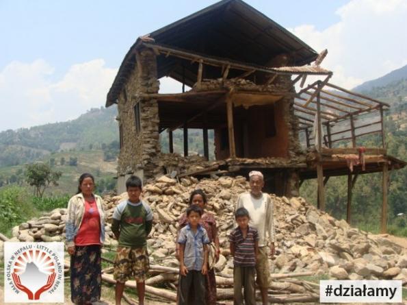7. Zdjęcie  - Polacy chcą pomóc zniszczonemu Nepalowi. Projekt