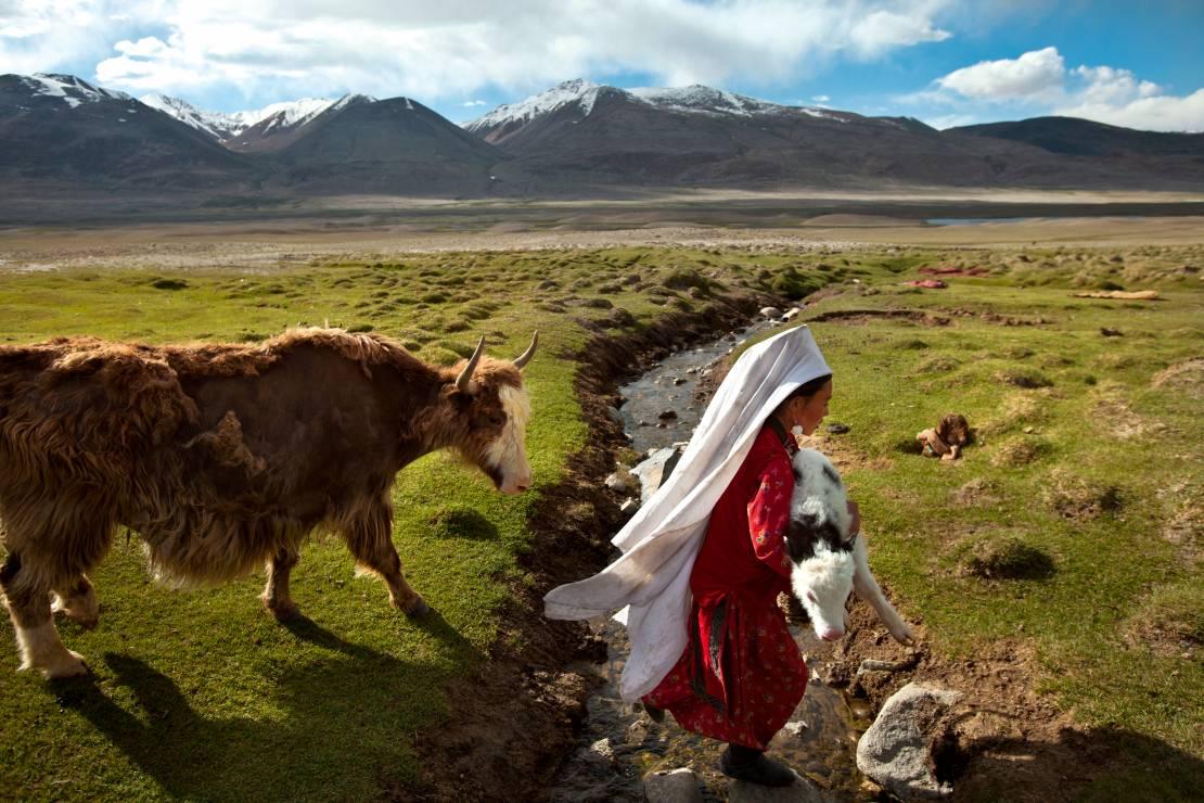 1. Zdjęcie  - Wciąż żyją tak, jak sto lat temu. Poznaj niezwykłą codzienność Kirgizów