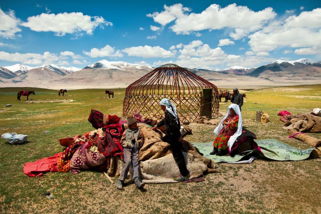 2. Zdjęcie  - Wciąż żyją tak, jak sto lat temu. Poznaj niezwykłą codzienność Kirgizów