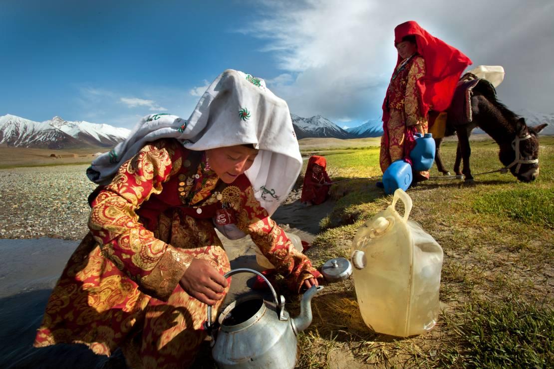 5. Zdjęcie  - Wciąż żyją tak, jak sto lat temu. Poznaj niezwykłą codzienność Kirgizów
