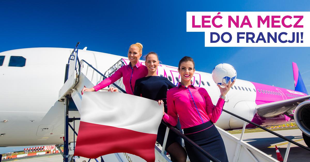 Wizz Air uruchamia specjalne połączenie dla polskich kibiców - Bezpośrednim lotem na sobotni mecz. Wizz Air uruchamia specjalne połączenie dla polskich kibiców