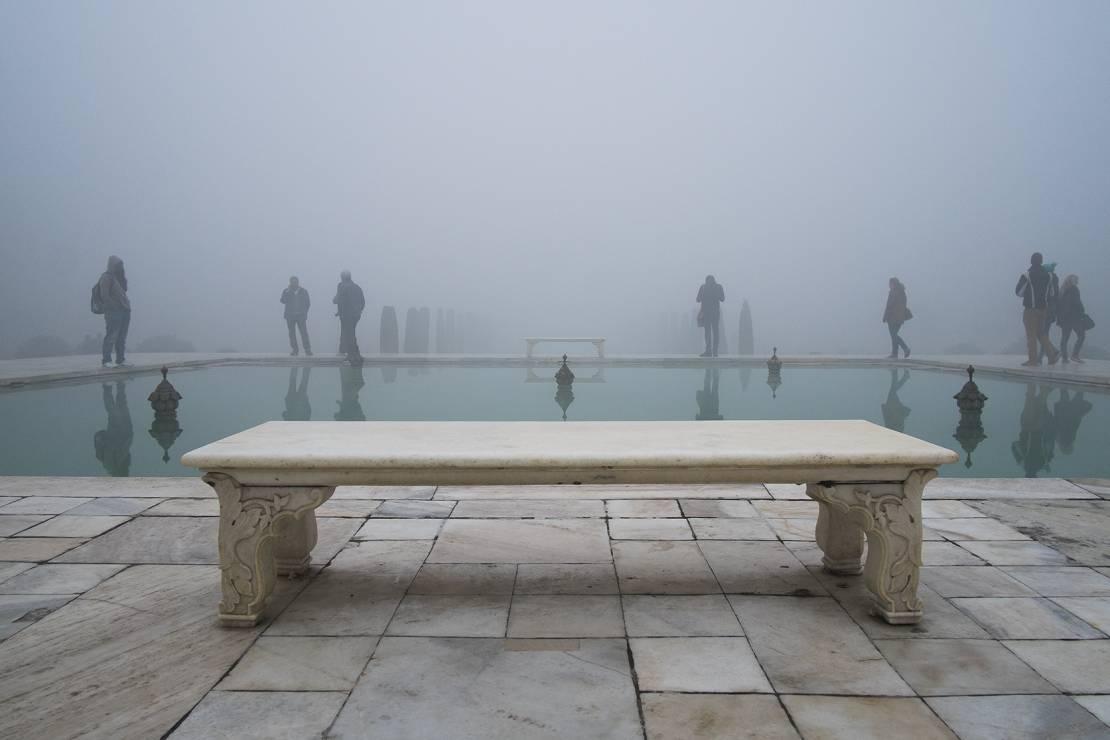 Tadź Mahal - Znacie te miejsca i dzieła sztuki, ale nie widzieliście ich nigdy z tej strony. Fotograf zakpił z nas wszystkich?